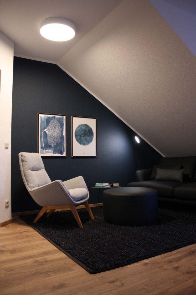 Eine Wohnung zum strahlen