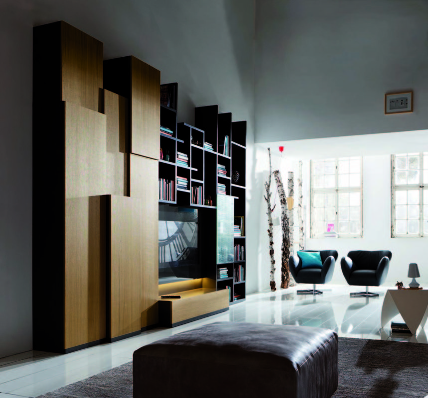 Skyline als TV-Möbel